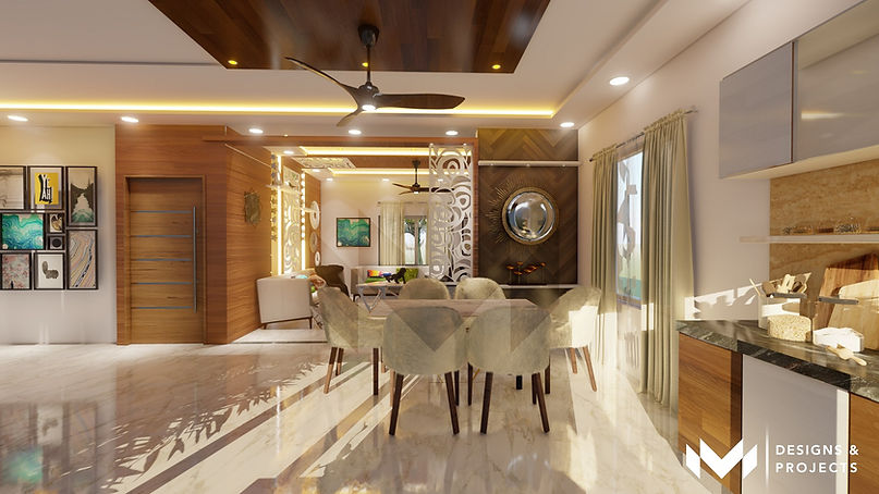 Contemporary Interiors - Dine Space