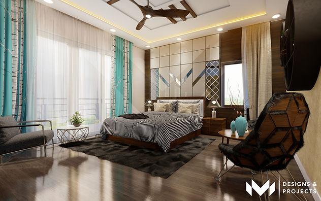 Contemporary Interiors - Bedroom