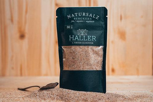 80g HALLER / Natursalz / fein
