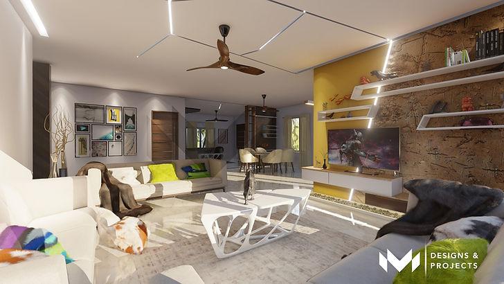 Contemporary Interiors - Living Room