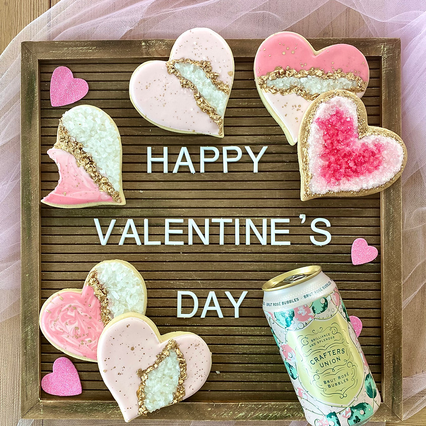 """""""You're a Gem"""" Valentine Cookie Decorating Kit"""