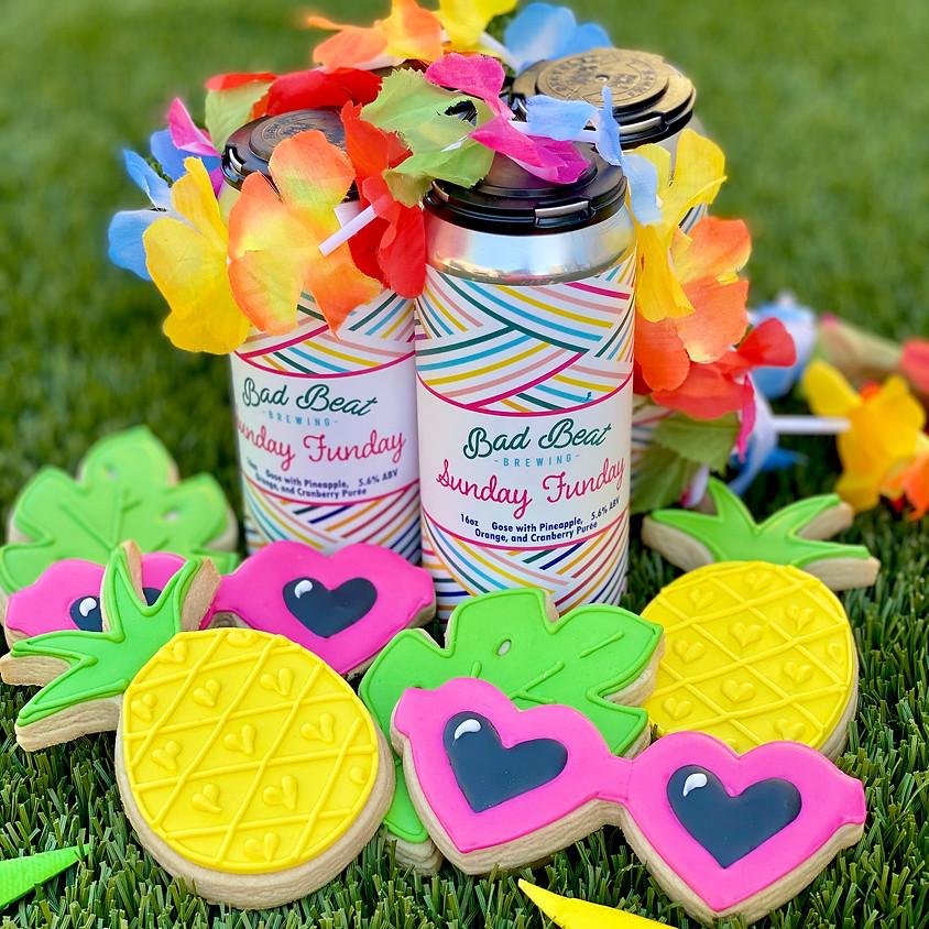"""SUNDAY FUNDAY"" DIY Cookie Decorating Kit"