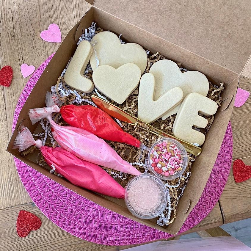 Kid's Valentine Cookie Decorating Kit