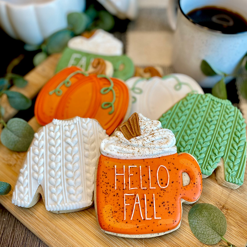 """""""Sweater Weather"""" Fall Cookie Decorating Workshop"""