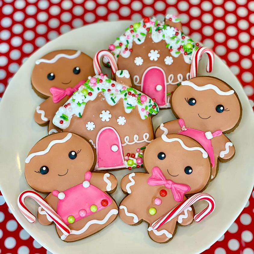 Sugar & Spice Gingerbread Decorating Kit