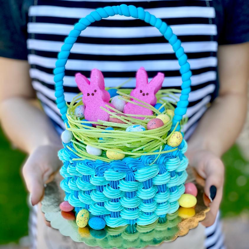 AM Easter Basket Cakelet & Cake Stand Workshop
