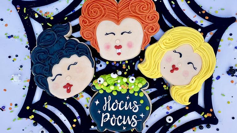 "SOLD OUT!!!!   ""HOCUS POCUS"" Cookie Decorating Workshop"