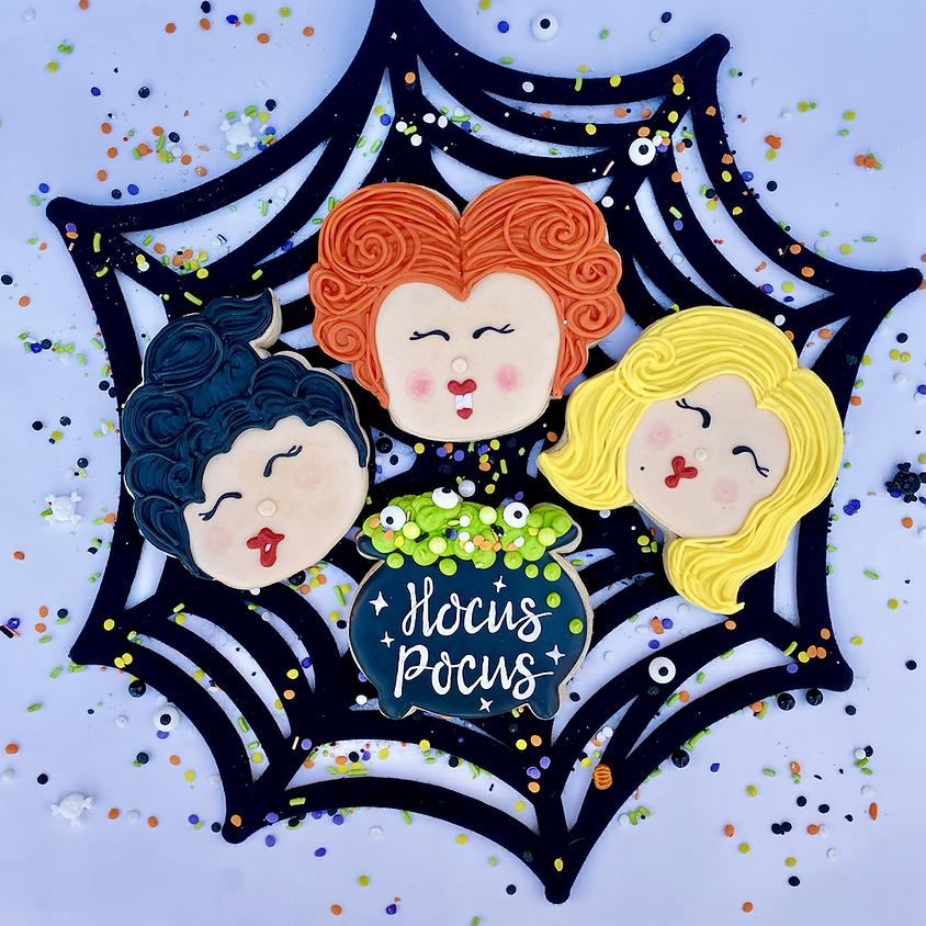 """""""HOCUS POCUS"""" Cookie Decorating Workshop #2"""