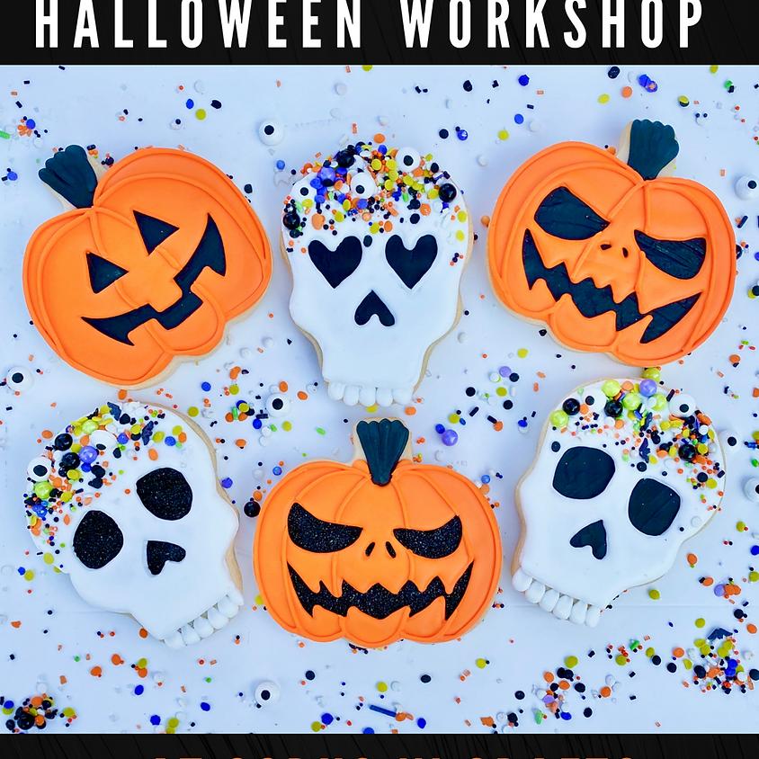 TRICKS & TREATS Cookie Decorating Workshop