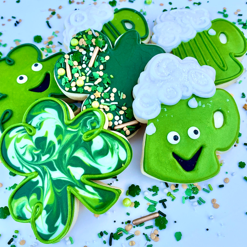 """""""Feeling Lucky"""" DIY Cookie Decorating Kit"""