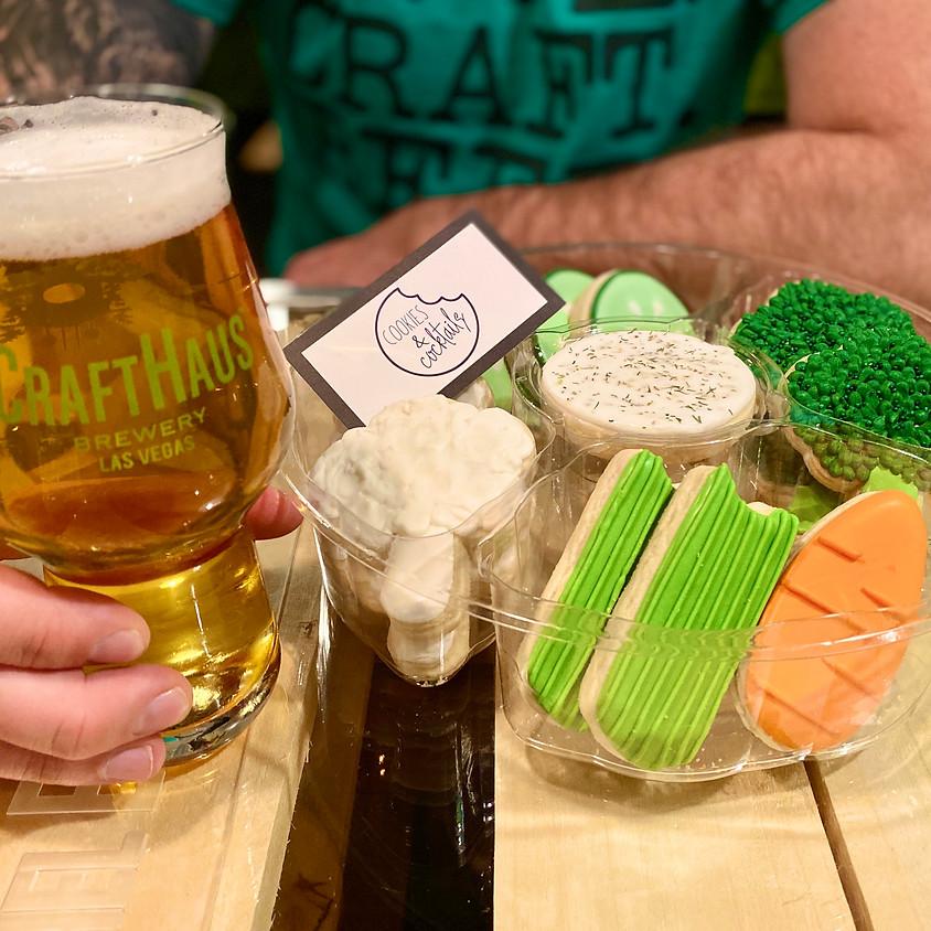 """April Fool'n """"Veggie Tray"""" Cookie Decorating Workshop"""