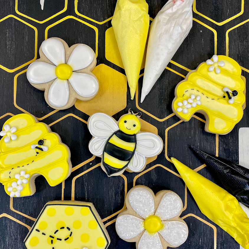 """""""Sweet as can Bee"""" Cookie Decorating Workshop"""