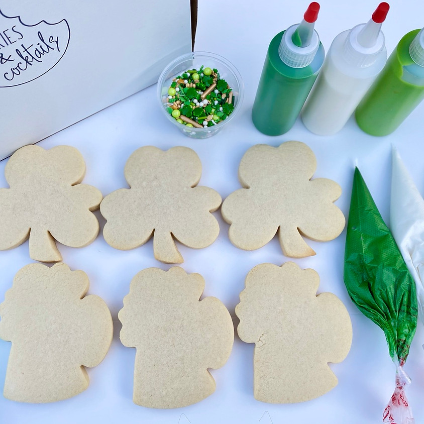 *CANCELLED* St Patty's Day Cookies & Cocktails at Khoury's