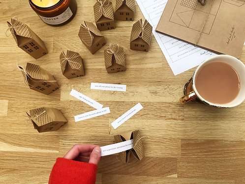 Printable Mindful Hygge Activities for DIY Advent Calendar