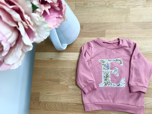 Personalised Liberty Floral Tee or Sweat