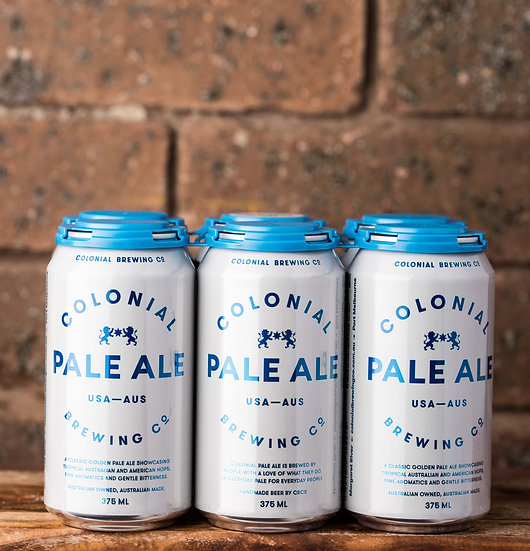 Colonial Pale Ale 6 pack 375ml