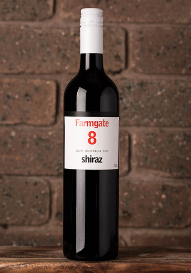 2017 Farmgate 8 Shiraz