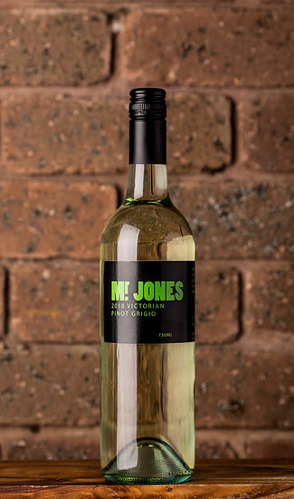 2018 Mr Jones Pinot Grigio