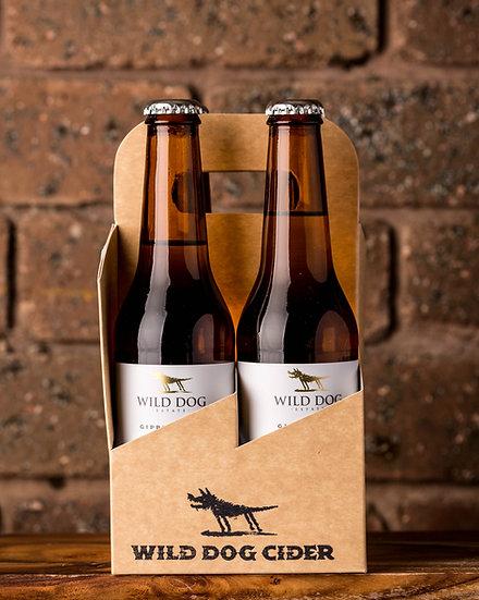 Wild Dog Apple Cider 4 pack 330ml bottles