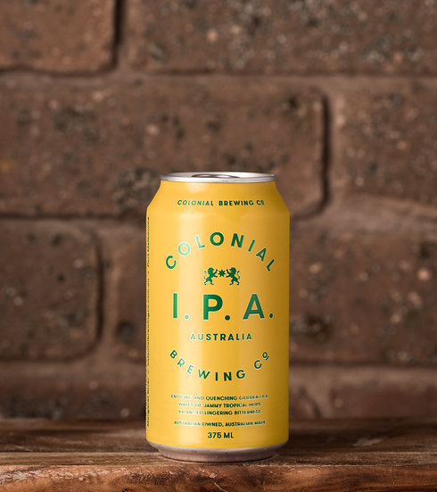Colonial IPA Can 375ml