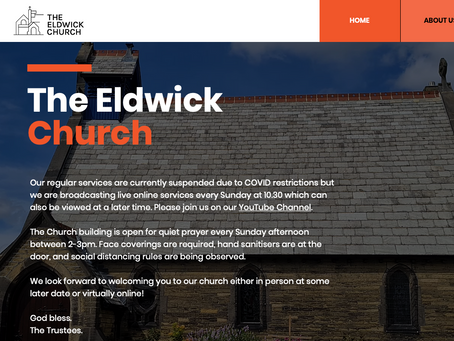 New Website for The Eldwick Church