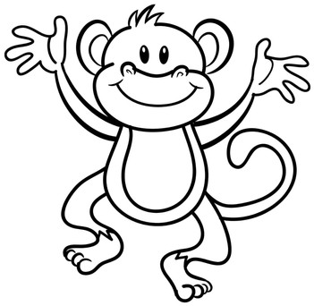 Colour in a Monkey