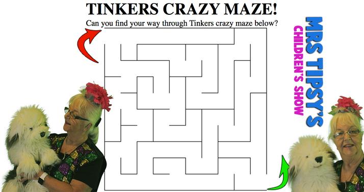 Tinkers Crazy Maze!