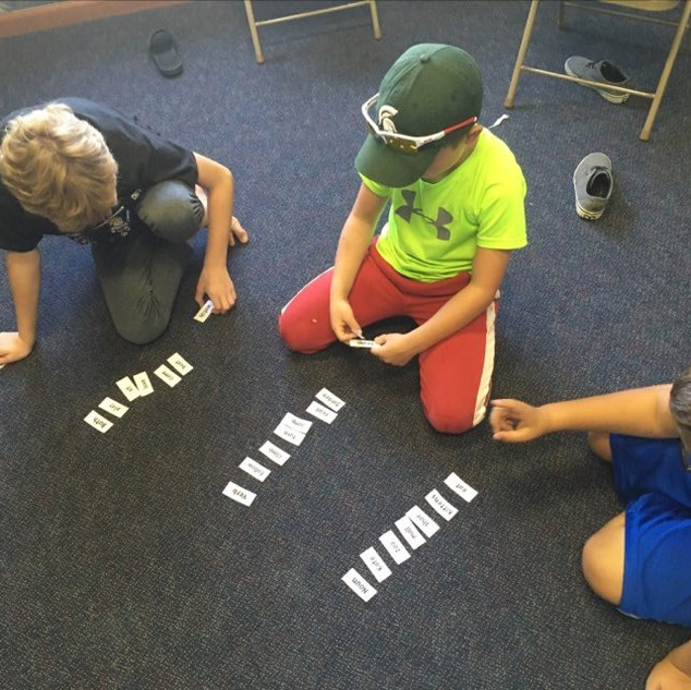 Sorting parts of speech