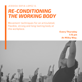 RE-CONDITIONING THE BODY