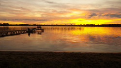 Moen Lake Sunset