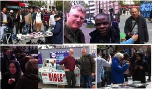 Jours et lieux d'évangélisation dans Paris