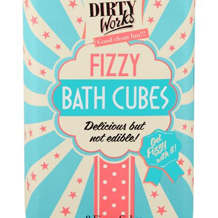 Dirty Works Fizzy Bath Cubes