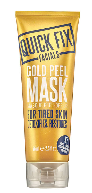 Gold Peel Mask