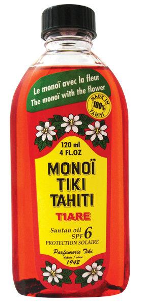 Monoi Tiki Tiare Spf 6 120ml