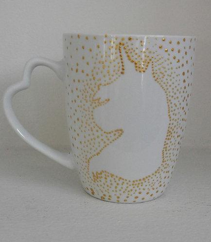 UNICORN Handmade Mug B