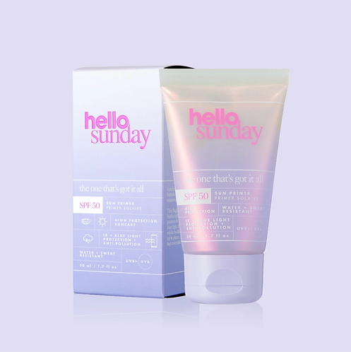Hello Sunday The one that's got it all - full shield face primer SPF 50, 50ml