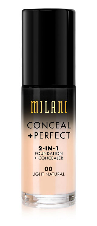 MILANI Conceal + Perfect 2-In-1 Foundation + Concealer Col.00