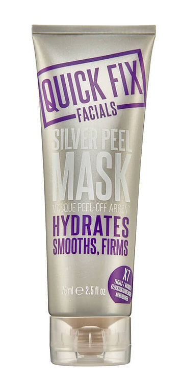 Silver Peel Mask
