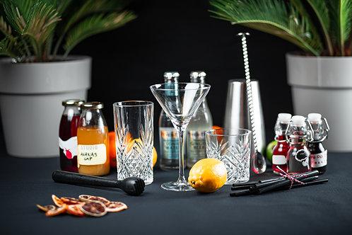 Cocktail thuis pakket basis 3 personen
