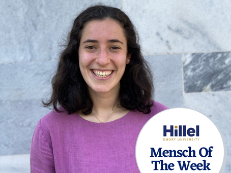 Emory Mensch of the Week: Bella Cantor