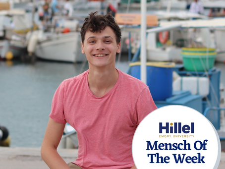Emory Mensch of the Week: Jesse Steinman