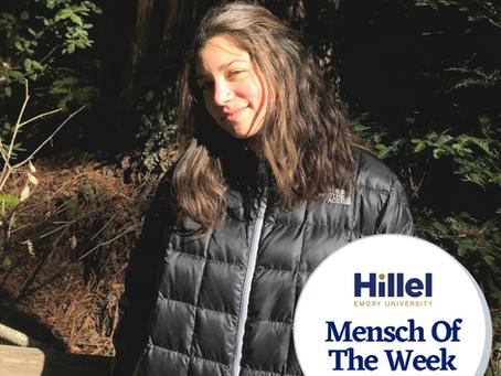 Emory Mensch of the Week: Micah Ross