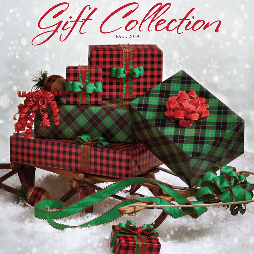 Fall Wrapping Paper and Flag Catalog Sale