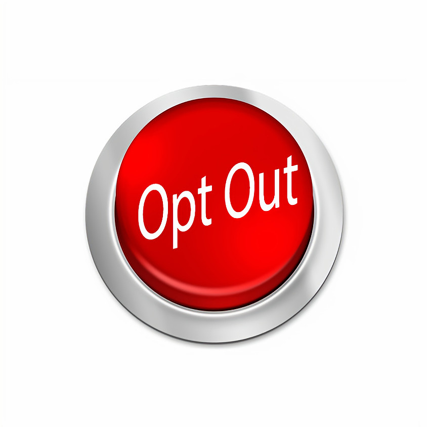 The Opt Out Fundraiser