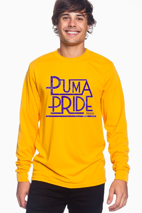 Long Sleeve Adult Puma Pride Yellow