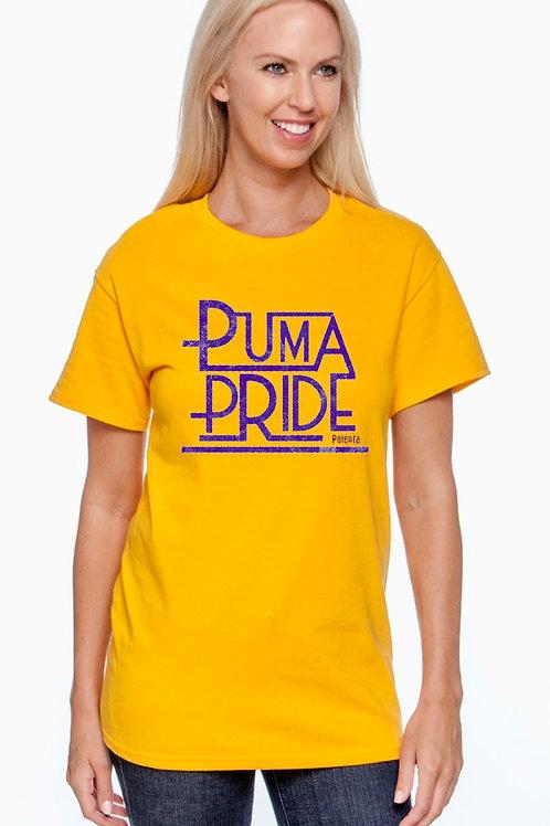 Short Sleeve Adult Puma Pride Yellow