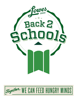 Lowes back 2 school program logo
