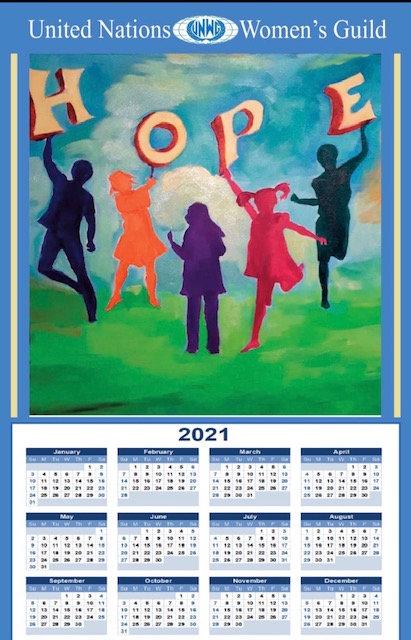 UNWG 2021 Calendar Towel