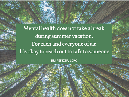 Summer Vacation and Mental Health
