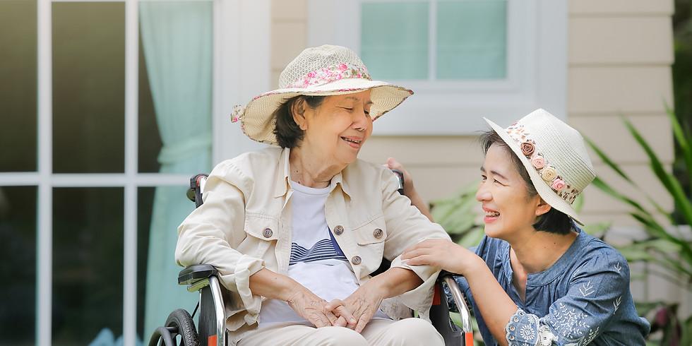 Caregiver: Balance, Self-Compassion, and Grace